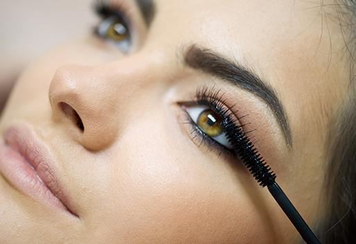 Mise en beauté des yeux